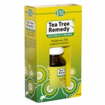 Aceite de Árbol del Té: antiséptico, fungicida, reparador y regenerante de la piel.