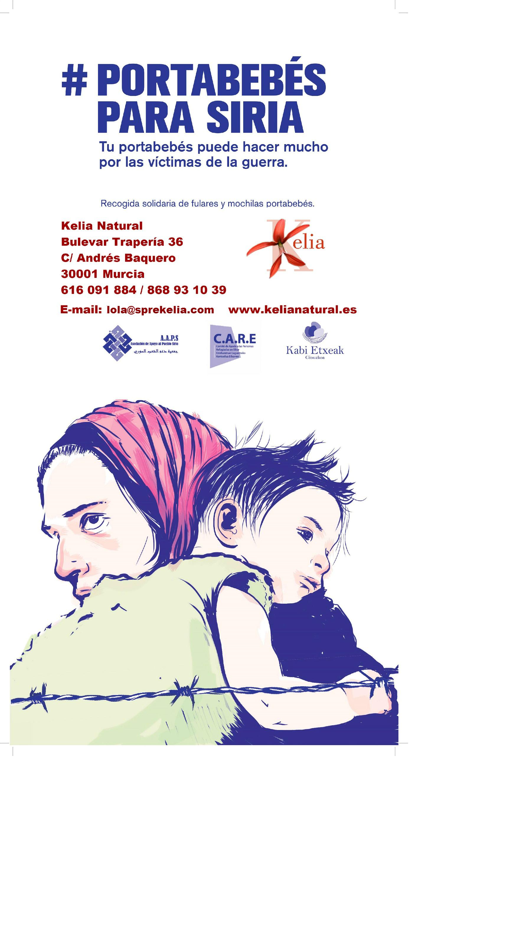 portabebés siria kelia