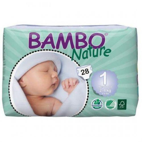 Pañales ecológicos Bambo Nature Newborn