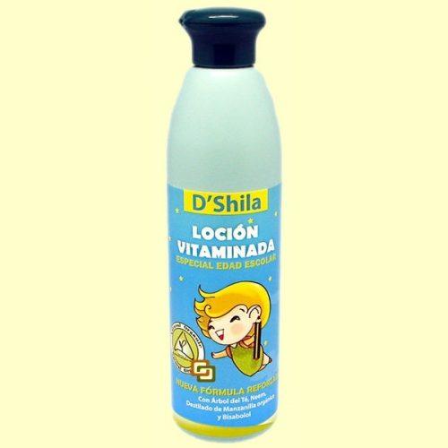 Loción Vitaminada especial edad escolar D'Shila