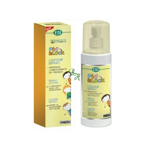 Pid Block Aceite Spray antipiojos