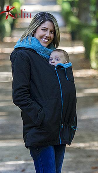 Abrigo de porteo y embarazo Wallaby: se adapta a todas tus necesidades,desde el embarazo, porteo, hasta que tu bebé esté preparado para enfrentarse al mundo